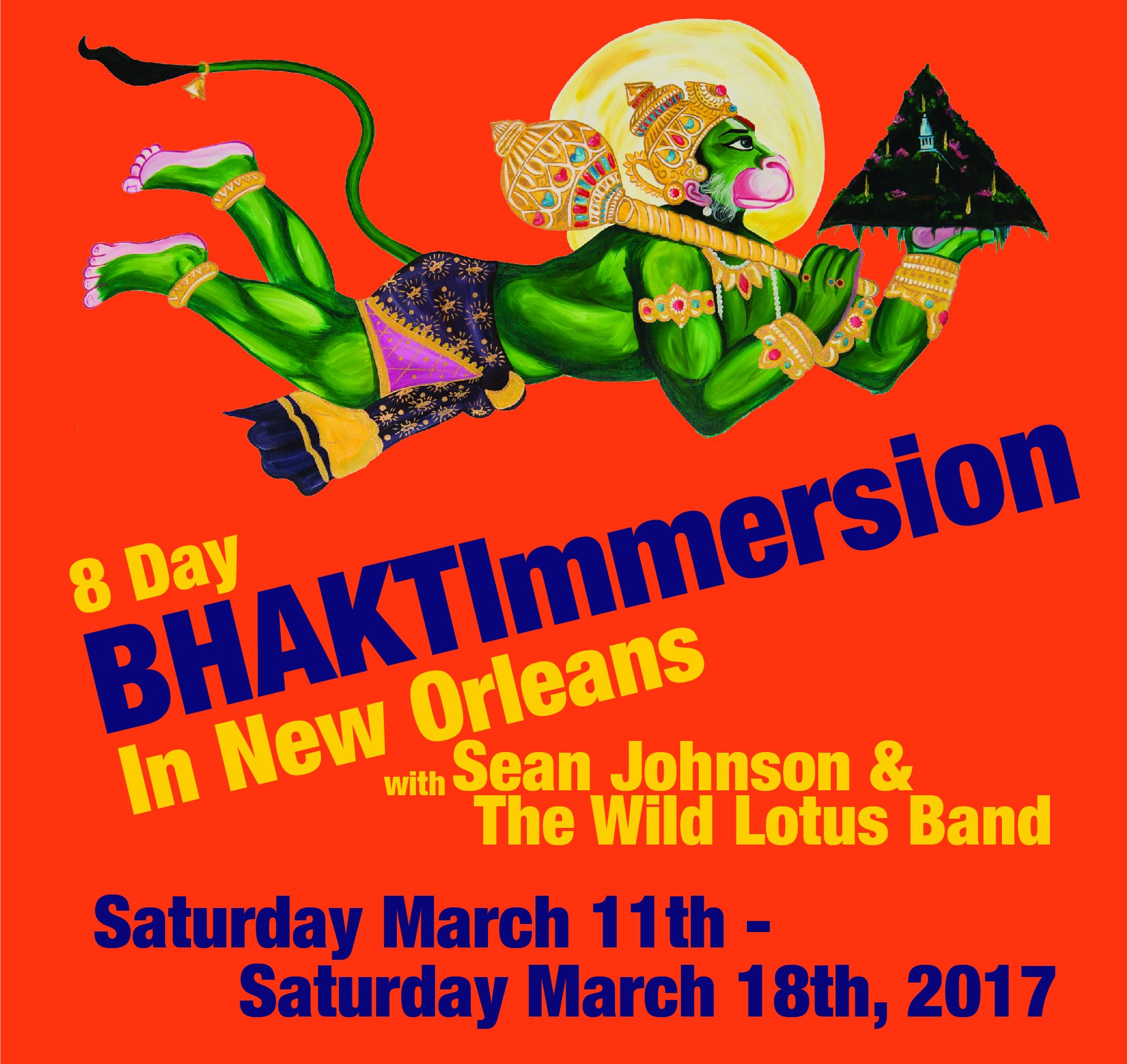 Annual Day BHAKTImmersion in New Orleans
