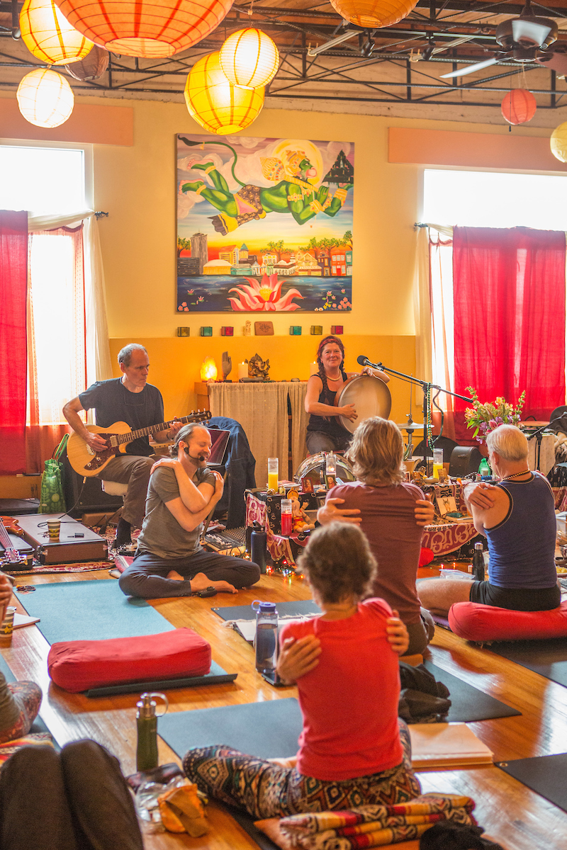 Heart of the Village Yoga Presents Bhakti Weekend with Sean Johnson & The Wild Lotus Band